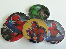 TAZOS SPIDERMAN Complete Toy Collection Pogs Toys Figures SPIDER MAN SPIDER-MAN