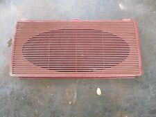 81-93 DODGE RAM D150 RAMCHARGER RED DASH SPEAKER COVER OEM NICE