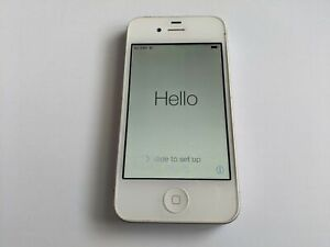 Apple iPhone 4 A1332 AT&T Wireless 8GB White Touchscreen Smartphone/Cell Phone