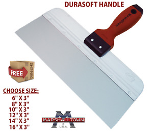 Marshalltown Pro Jointing Knife, Durasoft & Stainless Steel, Taping & Spatula