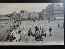Le Treport - La Place de la Batterie, Donkey Rides, Old Pc by Neurdein 140515