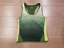 """C9 by Champion"" TOP Sz Large Green Exercise Workout Fitness Yoga Athletic Wear"