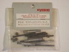 PG-6 Suspension Arm Pin Collar Set - Kyosho Progress 4WDS Gallop 4WDS