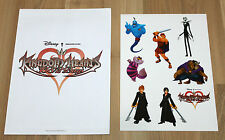 Kingdom Hearts 358/2 days PROMO STICKER Adesivo Set Square Enix DISNEY