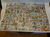 Lot of 153 Vintage 1967 Topps Baseball Cards Commons