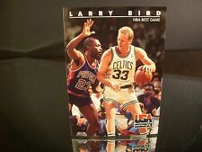 Larry Bird SkyBox USA Basketball 1992 Card #13 NBA BEST GAME Boston Celtics