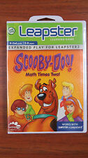 NEW SCOOBY-DOO Math Times Two!  game for  Leapster & Leapster 2     A120