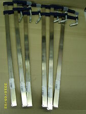 METAL F CLAMPS 80 X 600 MM AN IDEAL HANDY CLAMPS FOR ALL GENERAL PURPOSE