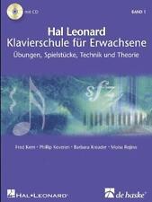 Hal Leonard Klavierschule für Erwachsene, mit 2 CDs