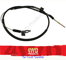 "Hand Brake Cable SET #1 & #2 - Suzuki Sierra SJ50 Maruti MG410 ""Wide Track"" LWB"