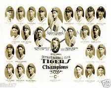1935 DETROIT TIGERS WORLD SERIES CHAMPIONS BASEBALL TEAM 8X10 PHOTO