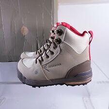 Size 8 Women's Redington Siren Sticky Rubber Wading Boots 5-WB00704608 Sand