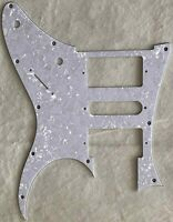 Custom Guitar Pickguard For Ibanez RG 350 DX Style Guitar,4 Ply White Pearl