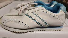 Damen Turnschuhe Sneaker Freizeitschuhe Gr. 39 weiß/blau