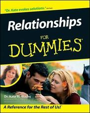 Relationships for Dummies by Kate Wachs (2002, Paper...