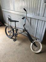 Vintage Schwinn Custom Stingray Bicycle - Custom Chopper Style Rat Bike Springer