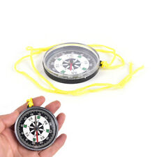Outdoor Lightweight Hiking camping plastic survival mini Compass GPS Tool new.