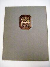 """Vintage Grammes, Inc. Catalog for """"Metal Print Craft"""" 1920 w/ Gold Emblem *"""