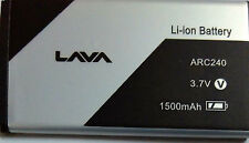New Hi Quality Replacement Battery for LAVA ARC240  1500mAh 3.7V