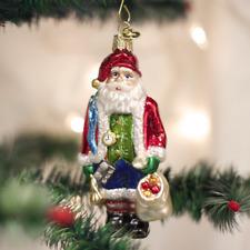 *Sinterklaas* [40286] Old World Christmas Glass Ornament - NEW