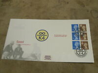 1998 First Day Cover-Regional Definitive pane/sheet- Speed records - Infinity K4