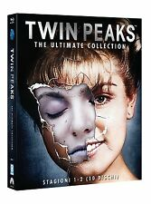 Cofanetto TWIN PEAKS collezione completa 10 dischi in blu ray nuovo