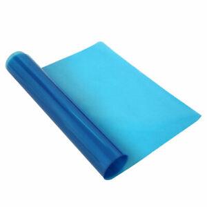 Bathroom Mirror Protective Film Clear Anti-fog Film Blue Protective Soft Film