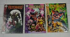 MotorHead #1-3 (Dark Horse) comic book lot of 3 Bagged and Boarded - C3471