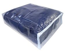 "1 Clear Vinyl Plastic  Blanket Storage Bags Zippered 15"" x 18"" x 6 """