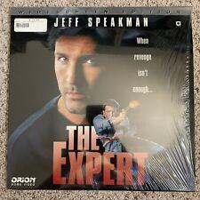 The Expert Widescreen Laserdisc - Jeff Speakman - VERY RARE