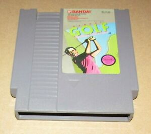 Bandai Golf: Challenge Pebble Beach for Nintendo NES Fast Shipping Authentic