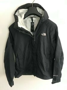 Womens The North Face Jacket / Coat size UK S/M Waterproof  Hyvent DT Black