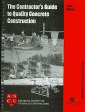 Contractor's Guide to Quality Concrete Construction, 3rd Edition by American…