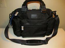 "TUMI Authentic Brooks Alpha Bravo 3  Black 14"" Laptop Business Commuter, NWT"