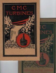 1920s Christiana Machine Co. WaTeR TURBiNES and GeaRS Catalog ORIGINAL