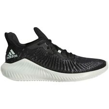 Mens Adidas Alphabounce+ Parley Black Running Athletic Shoe G28372 Size 9.5 & 10