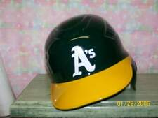 OAKLAND A'S RIGHT HAND COOLFLO F/S 1 FLAP BATTING HELMET SIZE 6 7/8