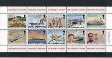 Solomon Islands 2005 End of WWII Anniversary set & sheet UM (MNH)