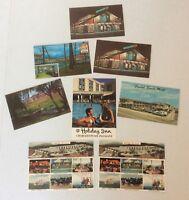 Hotel Motel VTG Postcard Lot (8) Crystal Sands Ramada Teysens Holiday Inn