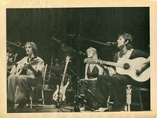 WINGS PINUP CLIPPING FROM A MAGAZINE 70'S PAUL McCARTNEY LINDA BEATLES