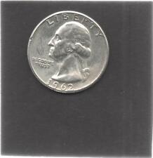 Moneta Stati Uniti United States Quarter Dollar 25 Cent 1962 Washington STU169