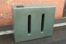 Ecosure 1050 Litre Large Slim Water Butt Rain Harvesting Tank V1 Green Marble