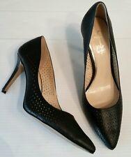 Jessica Simpson 10 M / 40 Black Eyelets High Heels Pump Shoes