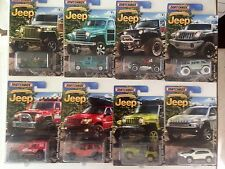 Matchbox JEEP Anniversary Edition Set of all 8 EIGHT Walmart Exclusive Willy's