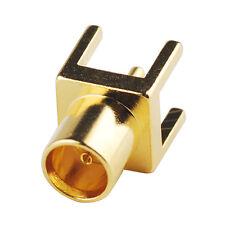 100pcs MCX Female Jack thru hole PCB Mount RF Connector with solder post 75 ohm