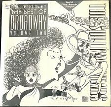 Best of Broadway Ed Sullivan Hirschfeld booklet 2 Special Tony Award CD Samplers