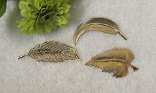 Petal Shrub Bush Branch Bloom Vl-B3 Classic Pins Brooch Fern Frond Leaves Tree