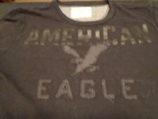 AMERICAN EAGLE OUTFITTERS Vintage Black 100% Cotton Size Small  T-Shirt   M0