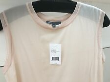 Vince Silk Tank Top Vest Shirt Blush Pink XS Small P NWT New