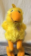 Vintage Plush Animal Fair Soft & Safe Yellow Duck 1979 Made For Thorp Credit